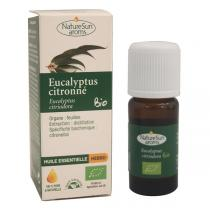 NatureSun Aroms - Huile Ess. Eucalyptus Citronné BIO 10mL