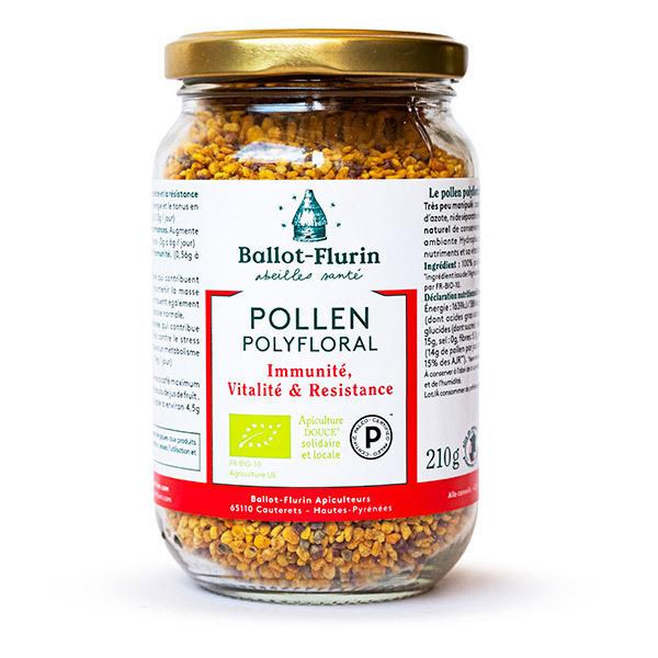 Ballot-Flurin - Pollen Polyfloral Dynamisé BIO 210g