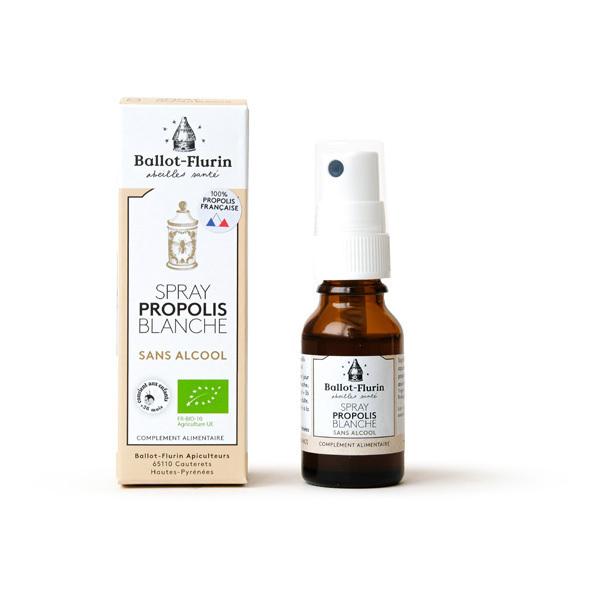 Ballot-Flurin - Spray Propolis Bio sans alcool