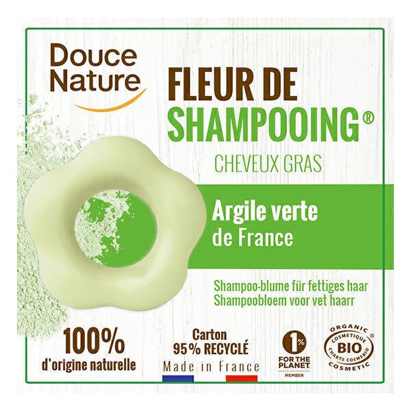 Douce Nature - Fleur de shampooing cheveux gras 85g