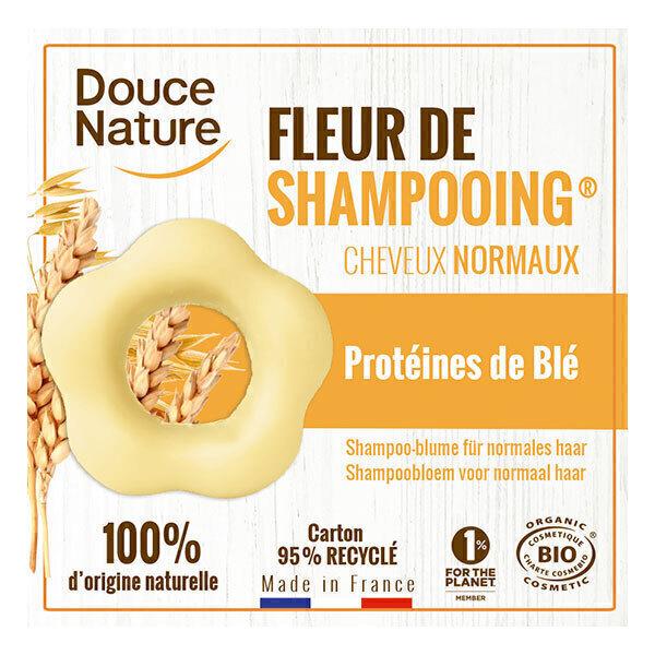 Douce Nature - Fleur de shampooing cheveux normaux 85g