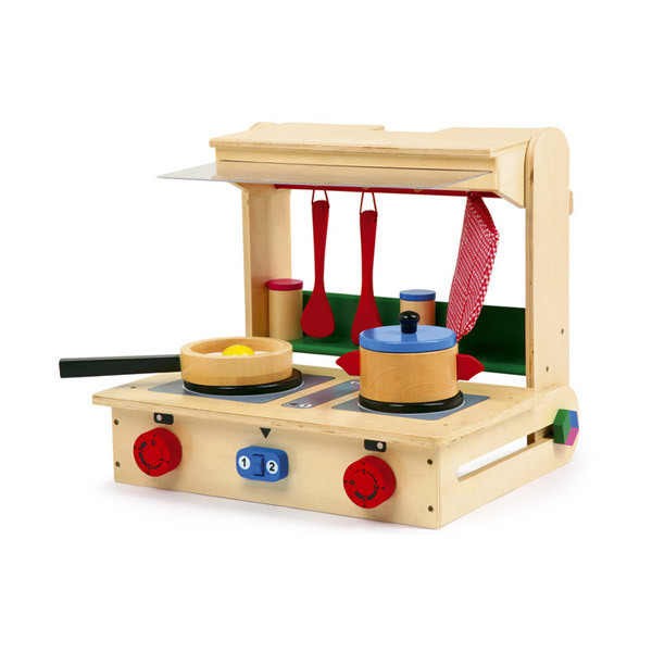 Kitchen Set Online: Wooden Play Kitchen Set Equilibre Et Aventure
