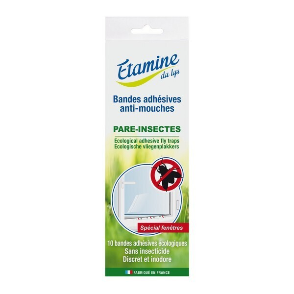 Etamine du Lys - Bandes adhésives anti-mouches x10