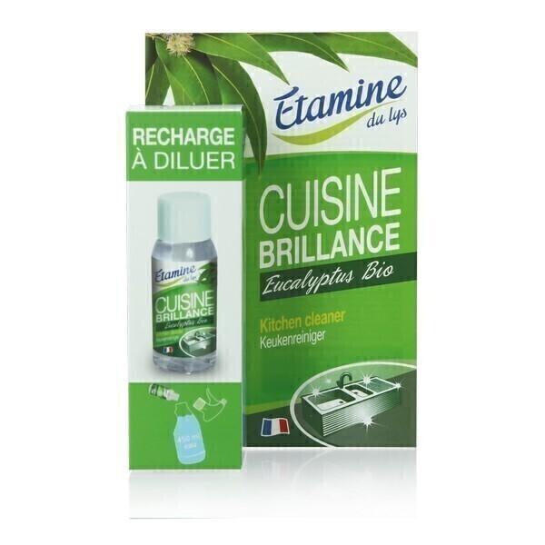 Etamine du Lys - Nettoyant cuisine brillance recharge à diluer 50ml