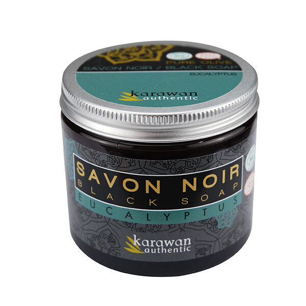 savon noir eucalyptus 200ml karawan acheter sur. Black Bedroom Furniture Sets. Home Design Ideas