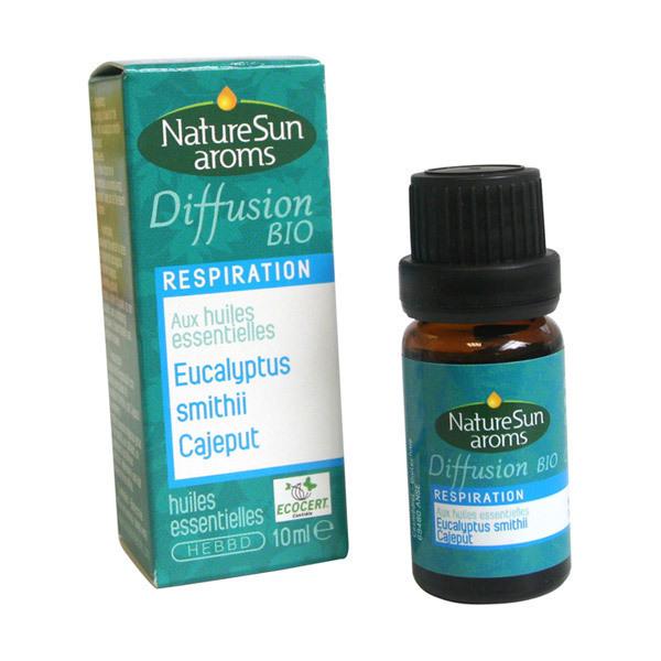 NatureSun Aroms - Diffusion Respiration Bio 10ml