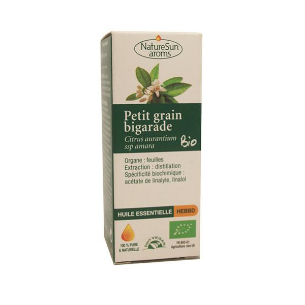 NatureSun Aroms - Huile Ess. Petit Grain Bigarade BIO 10mL