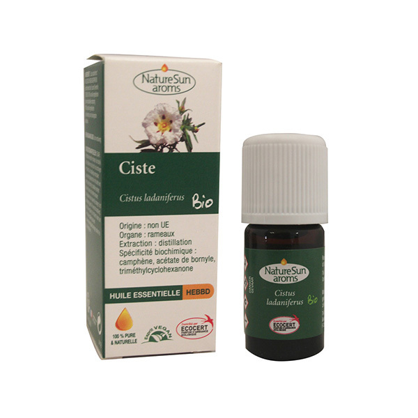 NatureSun Aroms - Huile Essentielle Ciste BIO 5mL