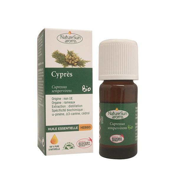 NatureSun Aroms - Huile Essentielle Cyprès BIO 10mL