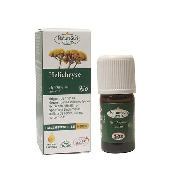 NatureSun Aroms - Huile Essentielle Helichryse ou Immortelle BIO 5mL