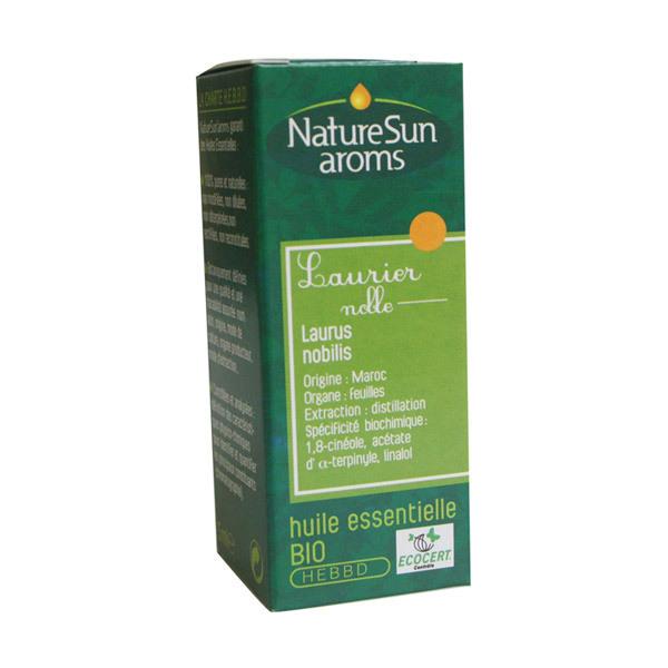NatureSun Aroms - Huile Essentielle Laurier Noble BIO 5mL