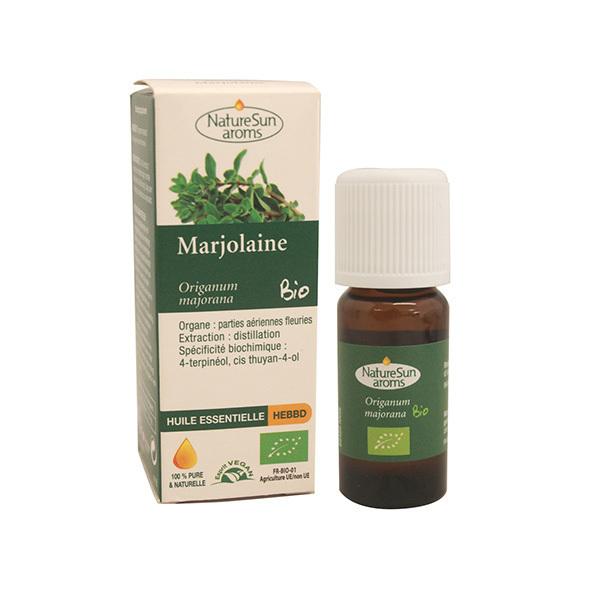 NatureSun Aroms - Huile Essentielle Marjolaine BIO 10mL
