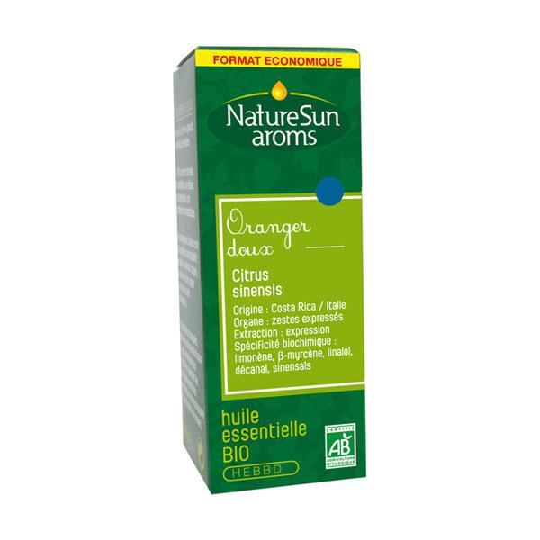NatureSun Aroms - Huile Essentielle Oranger Doux BIO 30mL