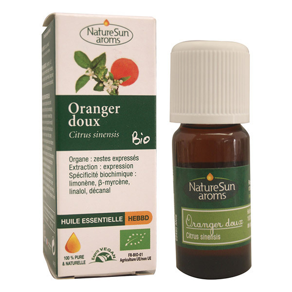 NatureSun Aroms - Huile Essentielle Oranger Doux BIO 10mL
