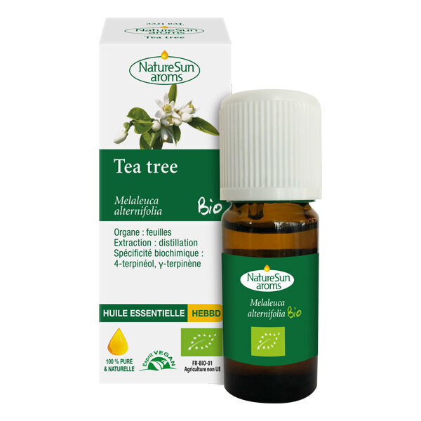 NatureSun Aroms - Huile Essentielle Tea Tree BIO 10mL