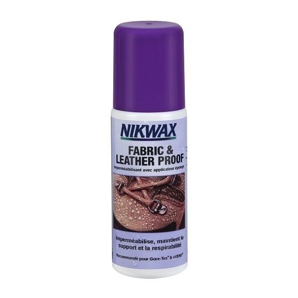 Nikwax - Imperméabilisant chaussures tissu et cuir 125 ml