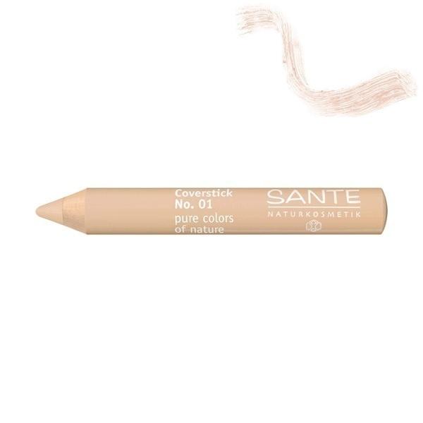 Santé - Coverstick Holzstift light No. 01