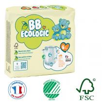 BB Ecologic - Lot de 4 x 16 culottes d'apprentissage T6 16-30Kg