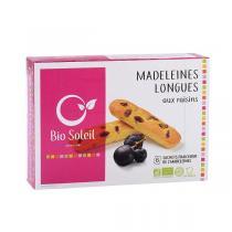 Bio Soleil - Madeleines longues Bio aux raisins - 165g