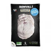 Bonval - Rôti porc sans sel nitrité 180g