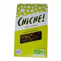 CHICHE - Croustiche pois chiches grillés Moutarde et Romarin 90g