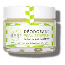 Clémence et Vivien - Déodorant en baume Mandarine peau sensible 50g