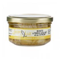 Conserverie Jean de Luz - Bonite a l'huile au citron 140g