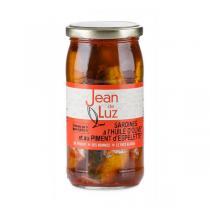 Conserverie Jean de Luz - Sardines à l'huile et au piment d'espelette AOP 320g