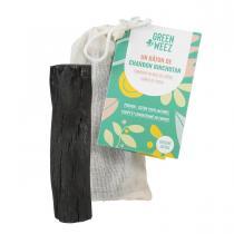 Greenweez - Lot de 3 charbons de bois Binchotan filtre à eau 100% naturel