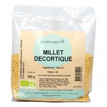 Greenweez - Millet Décortiqué Bio 500g