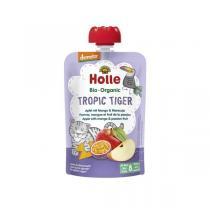 Holle - Gourde Tropic Tiger pomme mangue fruit de la passion 100g