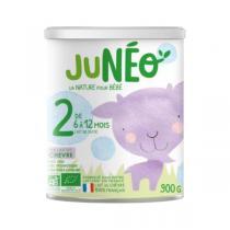 Junéo - Lait infantile chèvre 2ème âge 6-12 mois 900g