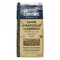 La Corvette - Copeaux de savon de Marseille Olive 750g