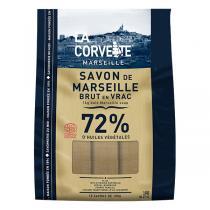La Corvette - Sac de 10 savons de Marseille Olive en vrac 1kg