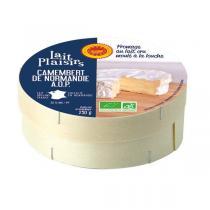 Lait Plaisirs - Camembert bio Normandie AOP 250g