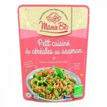 Mamie Bio - Mijoté de céréale au saumon 220g