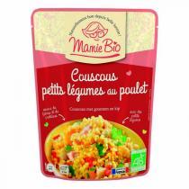 Mamie Bio - Mijoté de poulet curcuma façon couscous 220g