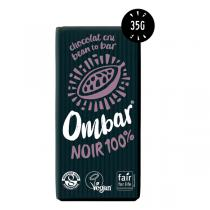 Ombar - Chocolat cru noir 100% bio 35g