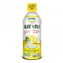 Organic Crunch - Boisson à l'aloe vera Citron Fleur de sureau 350ml