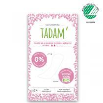 Tadam' - 24 Protège-Lingerie Normal Non-Irritants au Coton BIO