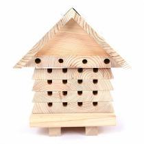 Wildlife World - Ruche pour abeilles solitaires avec couvercle amovible