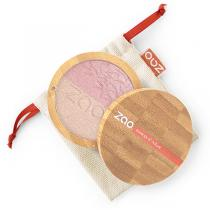 Zao MakeUp - Shine-up powder duo 311 Rose et or