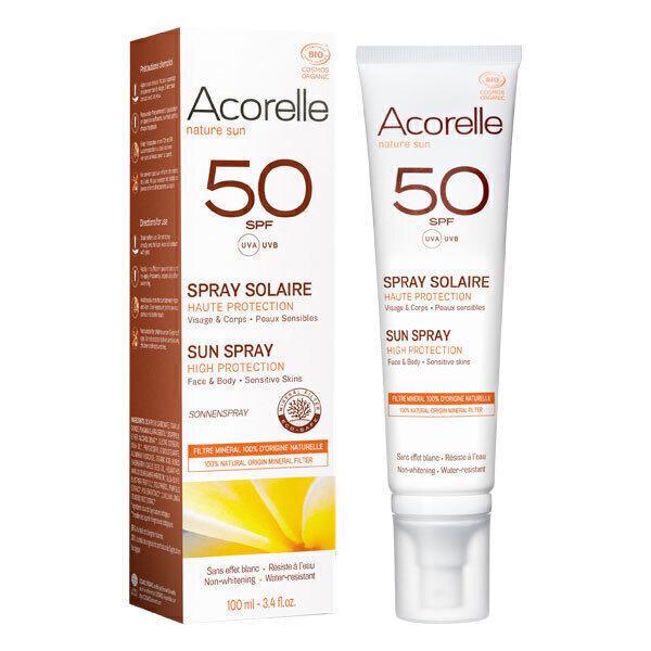 Acorelle - Spray solaire SPF50 100ml