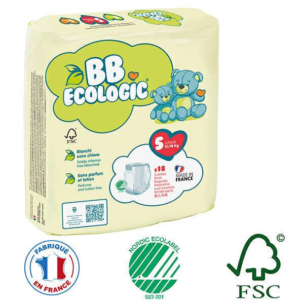 BB Ecologic - Pack 4x18 culottes d'apprentissage T5 12-18Kg