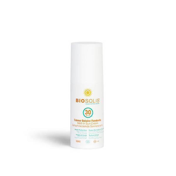 Biosolis - Crème solaire fondante SPF30 100ml