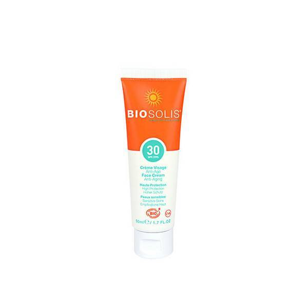 Biosolis - Crème solaire visage anti-âge SPF30 50ml