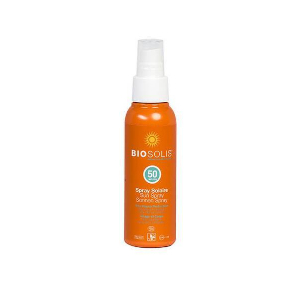 Biosolis - Spray solaire SPF50 100ml