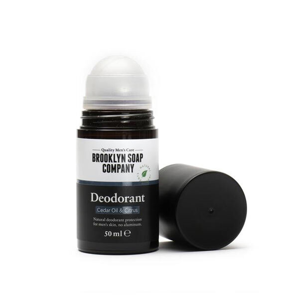 Brooklyn Soap Company - Déodorant roll-on homme 50ml