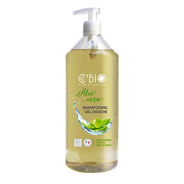 Ce'BIO - Shampooing et douche Aloe vera 1L