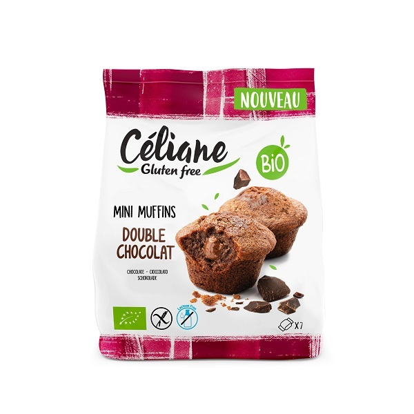 Céliane - Mini muffins double chocolat 200g